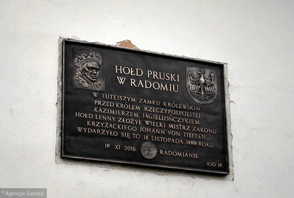 Hołd Pruski w Radomiu